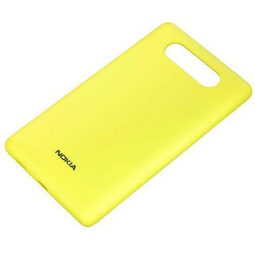 Nokia Obudowa do ładowania bezprzewodowego  cc-3041 żółty matt lumia 820 | teraz w super cenie - yellow matt