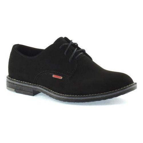 Buty komunijne dla chłopca 130/08 - czarny marki Zarro