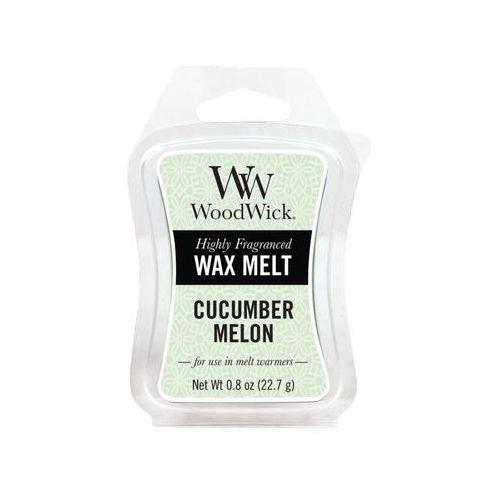 Woodwick - wosk zapachowy cucumber melon 10h