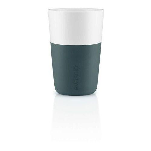Eva Solo - Zestaw 2 filiżanek do latte, ciemnoniebieski - 0,36 l (5706631191197)