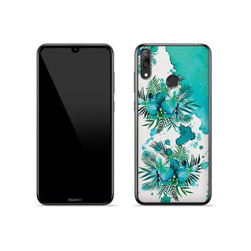 Etuo fantastic case Huawei y7 (2019) - etui na telefon fantastic case - turkusowa orchidea