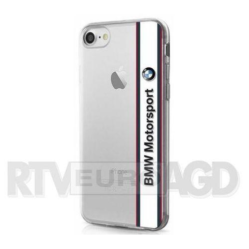 BMW Etui Hard do iPhone 7 białe-transparentne (BMHCP7TVWH) Darmowy odbiór w 20 miastach!, ORG002747