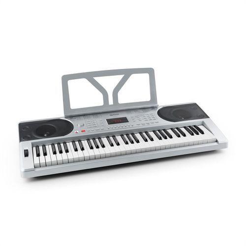 Schubert Etude 300 keyboard 61 klawiszy 300 głosów 300 rytmów 50 demo srebrny - sprawdź w wybranym sklepie