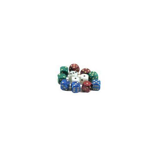 Kości standardowe perłowe - zestaw 12 szt. marki Hot games