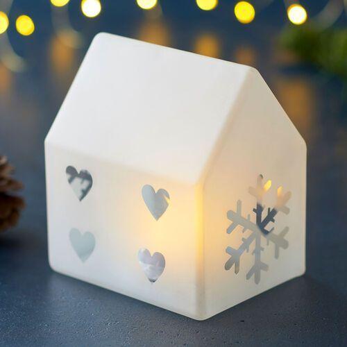 Oświetlenie dekoracyjne LED Santa House, 11,5 cm (5707310681404)