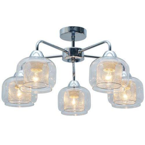 Plafon lampa sufitowa Candellux Ray 5x40W E14 chrom 35-67104, 35-67104