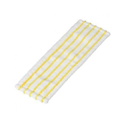 Mop płaski - z mikrowłókna biało-żółty (5 szt.)