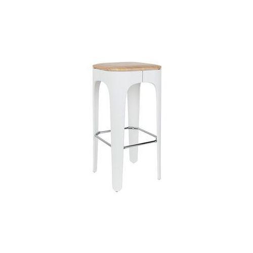 Orange line stołek barowy up-high biały 1500239 1500239 (8718548032941)