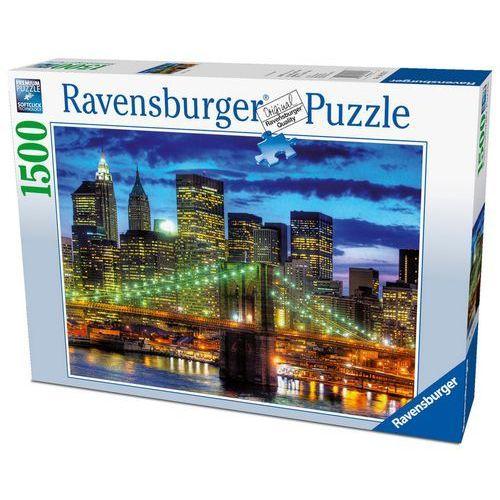 Ravensburger Puzzle 1500 elementów. nowy york wieczorem 162727