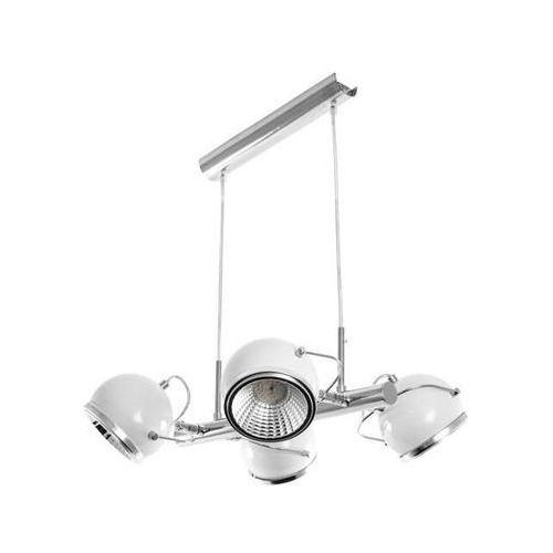 LAMPA wisząca BALL 5009582 Spotlight metalowa OPRAWA LED 20W ZWIS belka reflektorek kule biały (5900805044757)