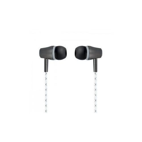 Słuchawki douszne Forever SE-110 białe z mikforonem