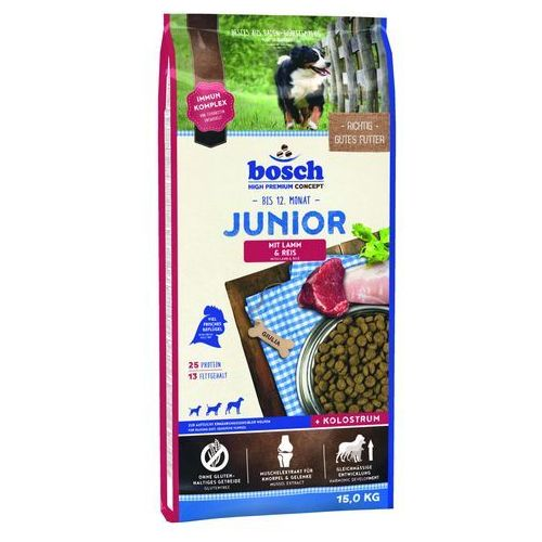 BOSCH JUNIOR LAMB&RICE 2x15 kg