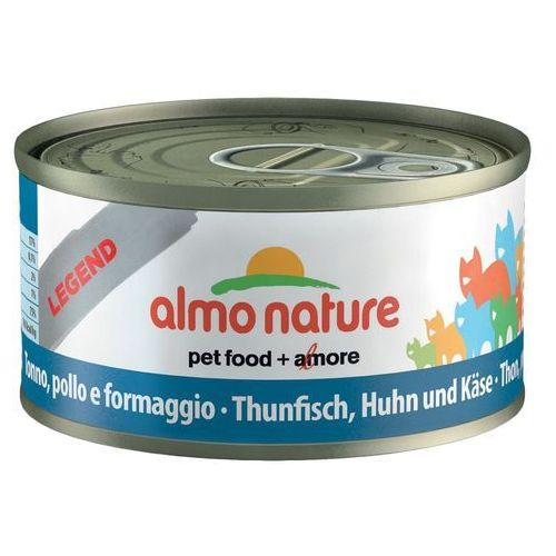 Almo nature łosoś z marchewką - puszka 24x70g