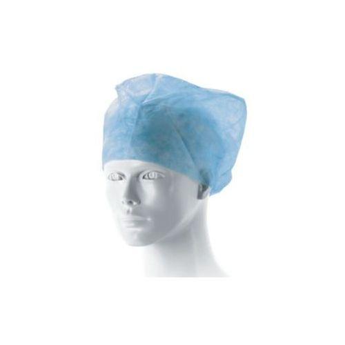 Czepek lekarski MATODRESS z gumką, niebieski, jałowy, 1 szt.
