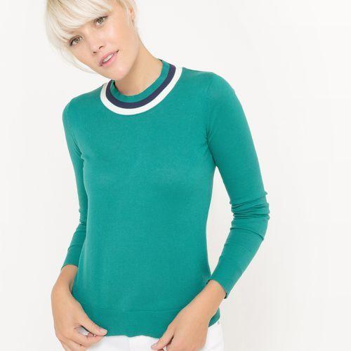 Sweter z okrągłym dekoltem marki La redoute collections