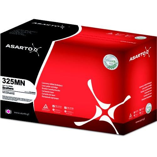 Toner zamiennik do brother tn325m i dcp-9055cdn | 3500 str. | magenta new marki Asarto