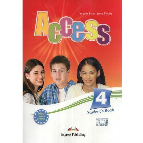 Access 4 Student\'s Book + eBook + Exam Skills Practice, oprawa broszurowa