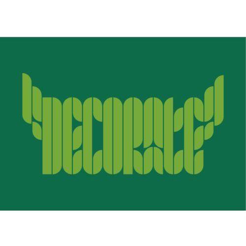 """Napis 68 """"decorate"""" - naklejka do dekoracji dowolnej powierzchni marki Szabloneria"""