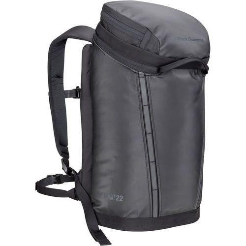 creek transit 22 plecak czarny 2018 plecaki szkolne i turystyczne marki Black diamond