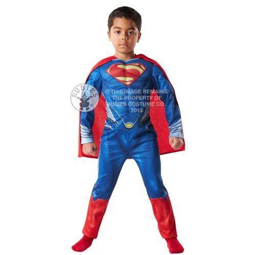 Superman - przebranie karnawałowe dla chłopca - rozmiar S z kategorii Pozostałe