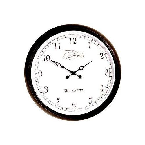 Nextime Zegar ścienny 25 cm aaltje czarny