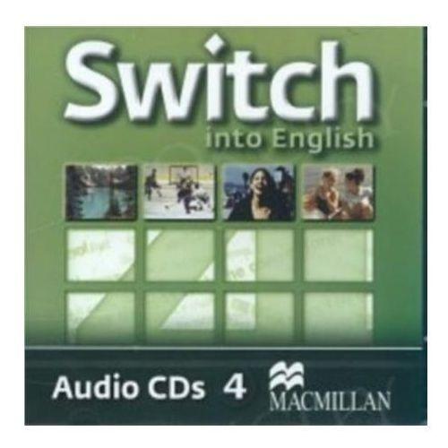 Switch Into English 4. CD do Podręcznika