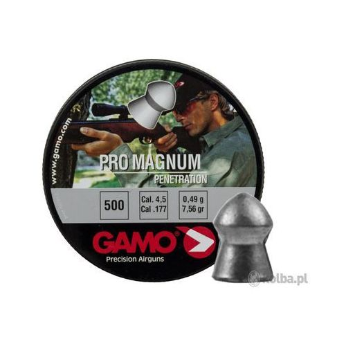 Gamo Śrut  diabolo pro magnum 4.5mm 500szt