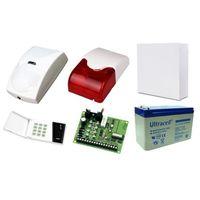 Satel Zestaw alarmowy ca-4, klawiatura led, 2 czujniki ruchu pet, sygnalizator wewnętrzny