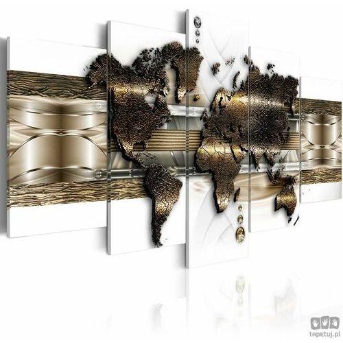 Obraz metaliczny świat marki Artgeist