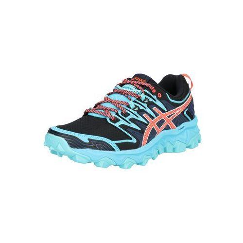 buty do biegania 'gel-fujitrabuco 7' aqua / ciemny niebieski / pomarańczowy marki Asics