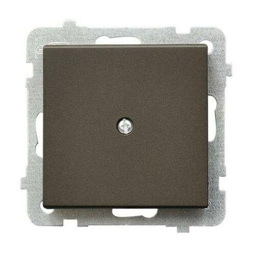 Ospel Sonata zaślepka czekoladowy metalik z-1r/m/40 (5907577449049)