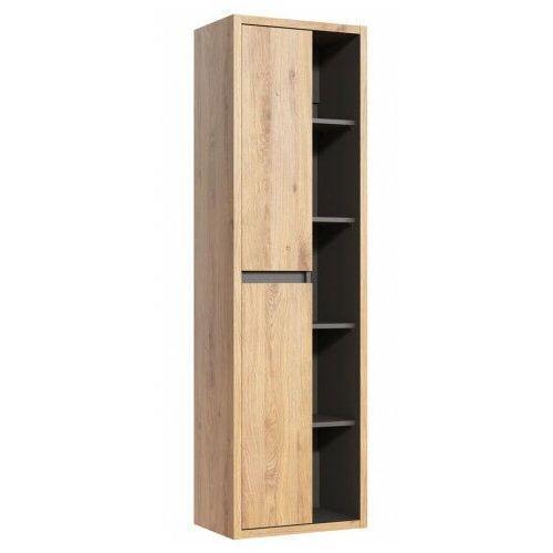 Słupek łazienkowy z odkrytymi półkami - Ralfo 2X, DEVON-801