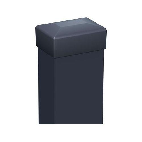 Słupek ogrodzeniowy 6 x 4 x 170 cm antracytowy marki Polargos