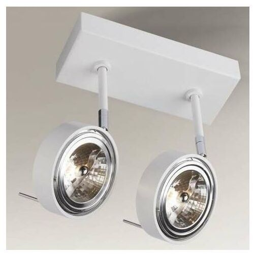 Shilo Lampa sufitowa fussa 7230 regulowana oprawa reflektorowa spot metalowy biały