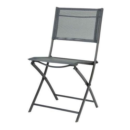 Krzesło składane saba antracyt marki Blooma