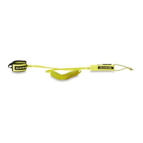 "Dakine Sup Leash 10' x 3/16"" Coiled Ankle (sulphur) 2018"