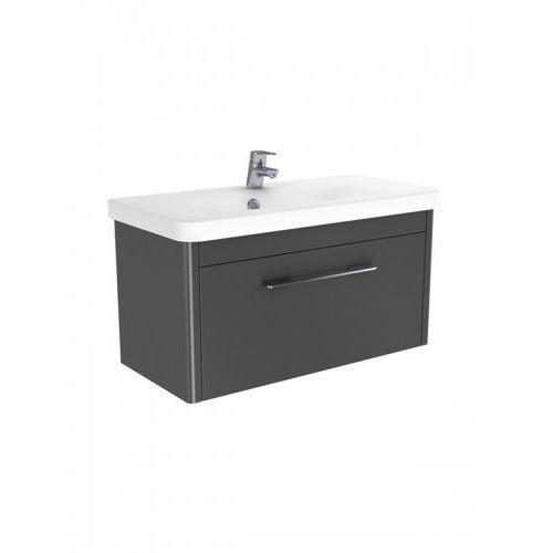 vito szafka wisząca + umywalka grafit połysk 80 cm ml-la180 marki New trendy