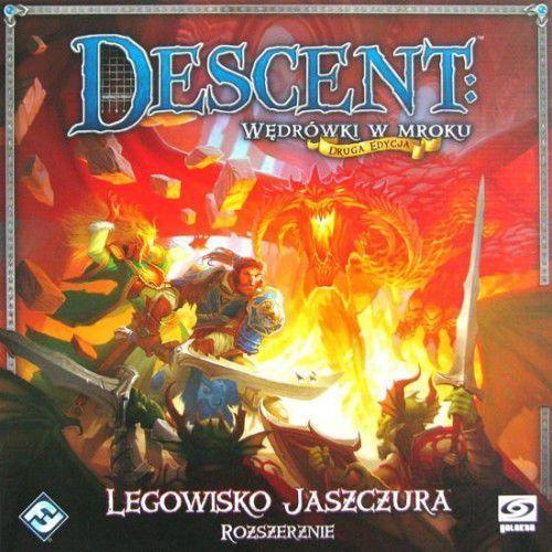 Descent: legowisko jaszczura, marki Fantasy flight games