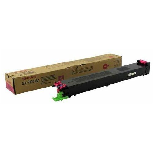 Sharp oryginalny toner MX-31GTMA, magenta, 15000s, Sharp MX 2301N, 2600N, 3100N, 4100N, 4101N, 5000N, 5001N, TSHMX31GTMMG (6470824)