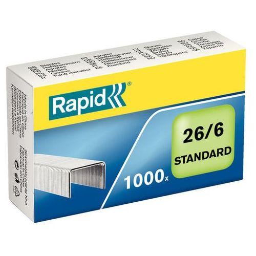 Zszywki standard 26/6 (1000 szt.) marki Rapid