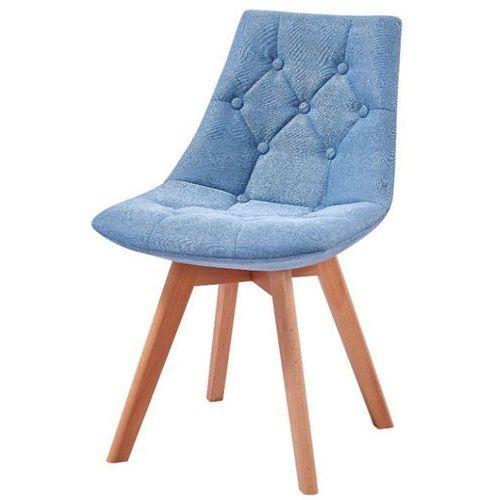 Hliving Nowoczesne tapicerowane krzesło prince