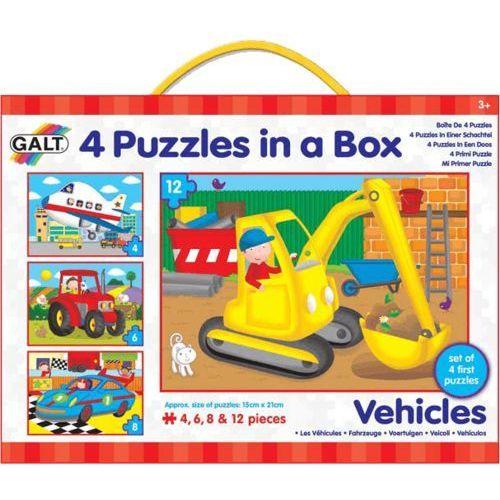 GALT 4 Puzzle w pudełku – środki transportu - sprawdź w wybranym sklepie