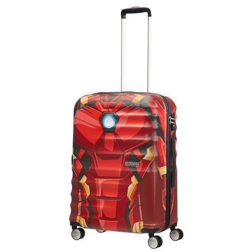 American tourister Walizka średnia wavebreaker marvel - iron man close-up
