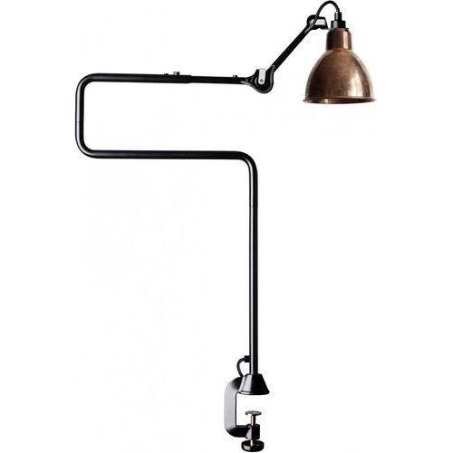 Lampe Gras N°211-311 - lampa biurkowa - czarny/miedziany surowy, 211-311 BL-COP-RAW