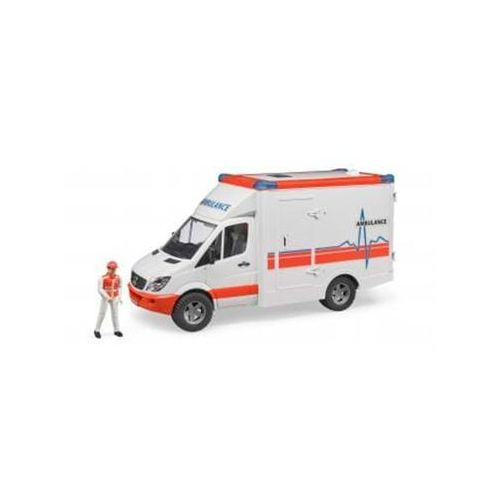 Bruder 02536 - MB Sprinter Ambulance with driver (4001702025366)