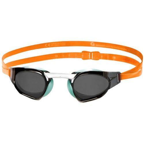Speedo fastskin prime mirror okulary pływackie pomarańczowy/czarny 2018 okulary do pływania