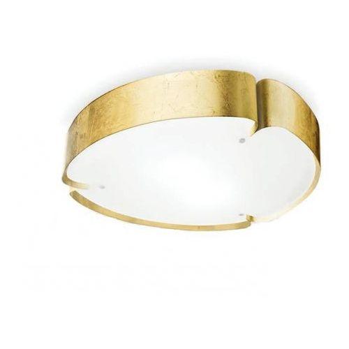 Linea light Lampa sufitowa matrioska 610 złota żarówki led gratis!, 90248