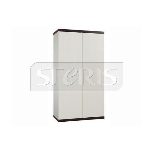 Drewnostyl pinio Szafa 2-drzwiowa pinio lara perła wenge - 020-042-150