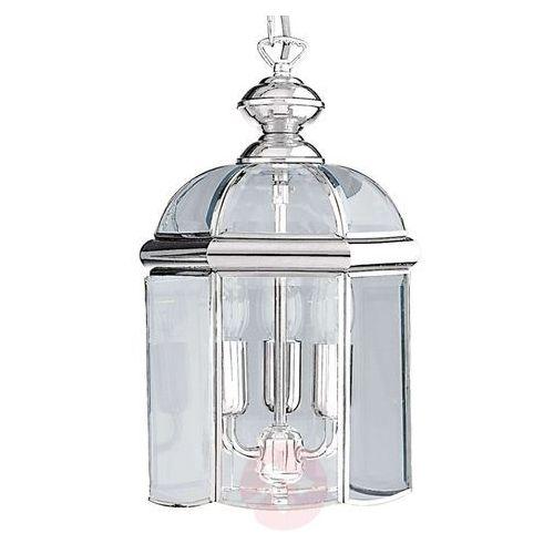 Chromowana błyszcząca lampa wisząca ARLIND, chrom, kolor chrom