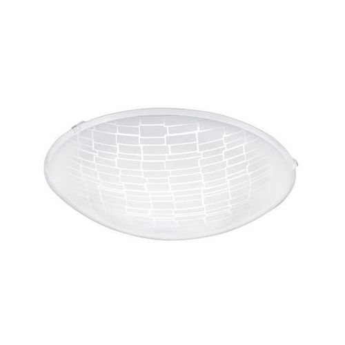 Eglo Plafon malva 1 96085 oprawa lampa sufitowa ścienna 1x11w led biały